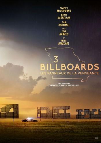 Affiche du Film 3 Billboards: Les Panneaux de La Vengeance au Majestic Ivoire