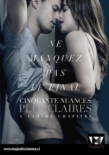 Affiche du Film 50 Nuances Plus Claires au Majestic cinéma