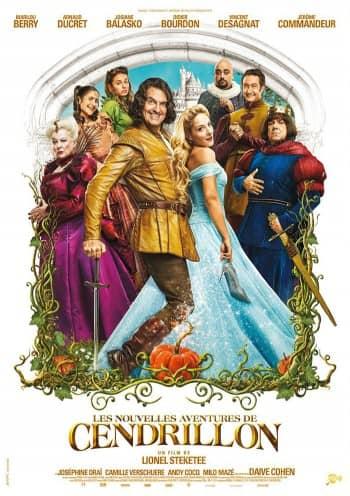 Affiche du Film Les Nouvelles Aventures de Cendrillon au Majestic cinéma