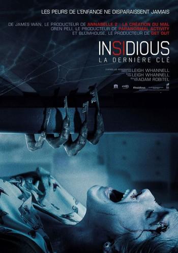 Affiche du Film Insidious: La dernière clé au Majestic Sococé