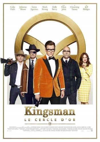 Affiche du Film Kingsman: Le Cercle d'or au Majestic cinéma