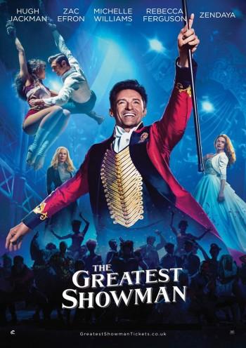 Affiche du Film The Greatest Showman à venir au Majestic Sococé