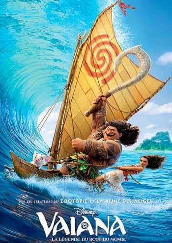 Affiche du Film VAIANA au Majestic cinéma