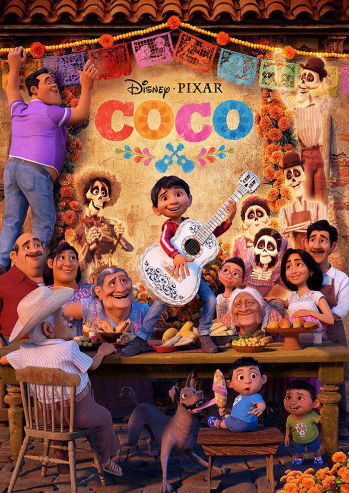 Affiche du Film Coco à venir au Majestic Sococé