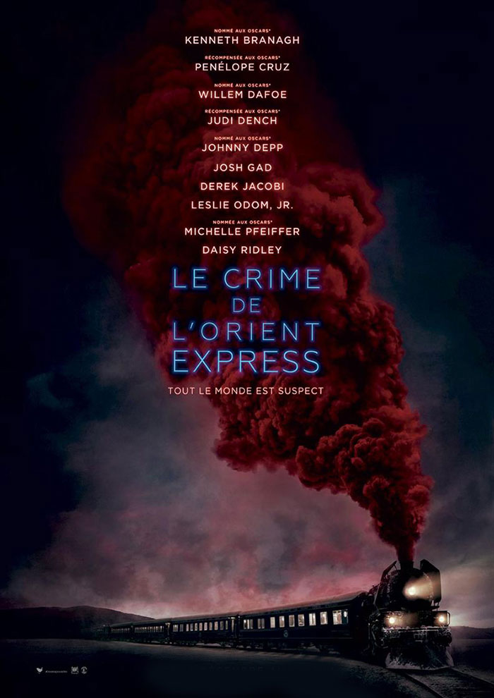 Bande Annonce de Le Crime De L'orient-express à venir au Majestic Cinéma
