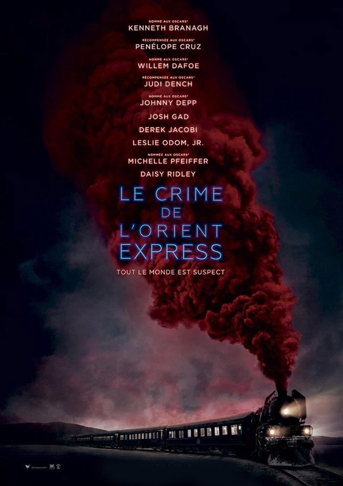 Affiche du Film Le Crime De L'orient-express à venir au Majestic Sococé