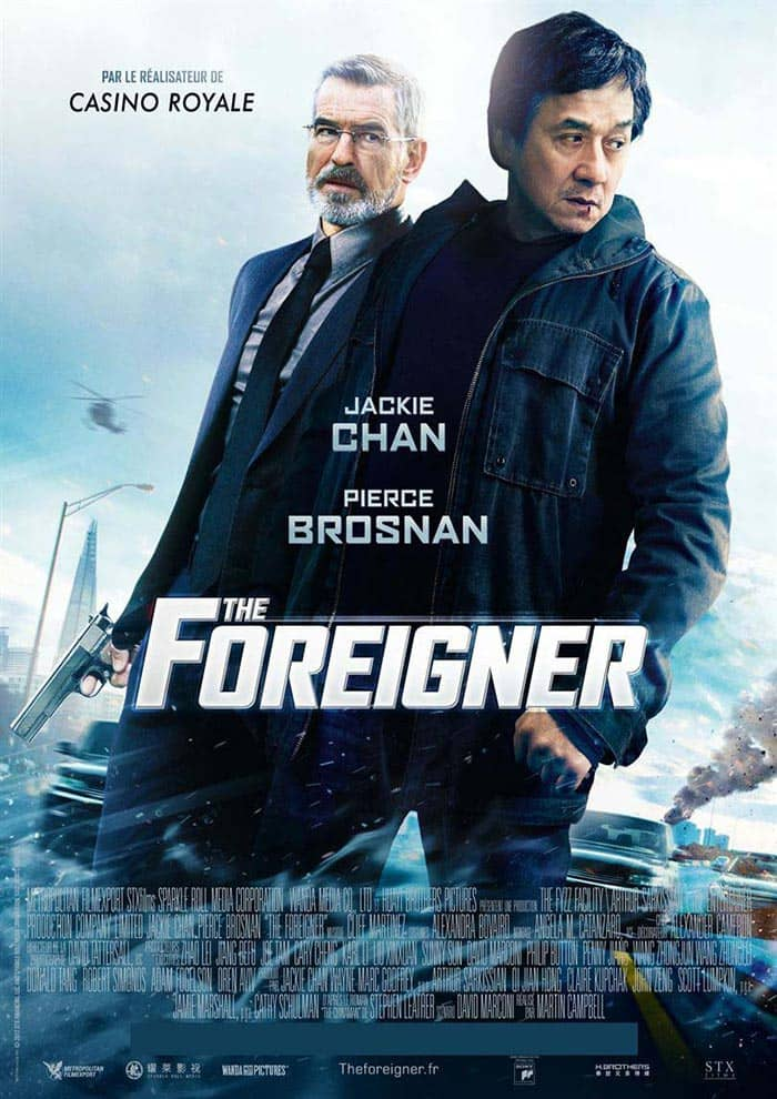 Affiche du Film The Foreigner à venir au Majestic Prima