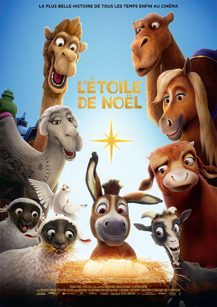Bande Annonce de L'étoile De Noël à venir au Majestic Cinéma