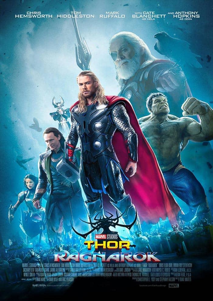 Affiche du Film Thor : Ragnarok au Majestic Sococé