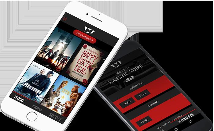 Télécharger l'application Mobile Majestic cinéma